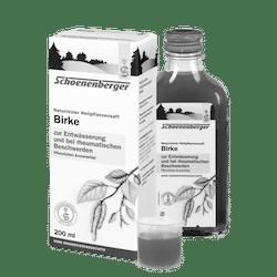 Schoenenberger® Birke, Naturreiner Heilpflanzensaft