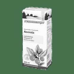 Schoenenberger® Acerola, Naturtrüber Fruchtsaft