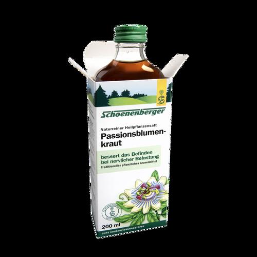 Schoenenberger® Passionsblumenkraut, Naturreiner Heilpflanzensaft