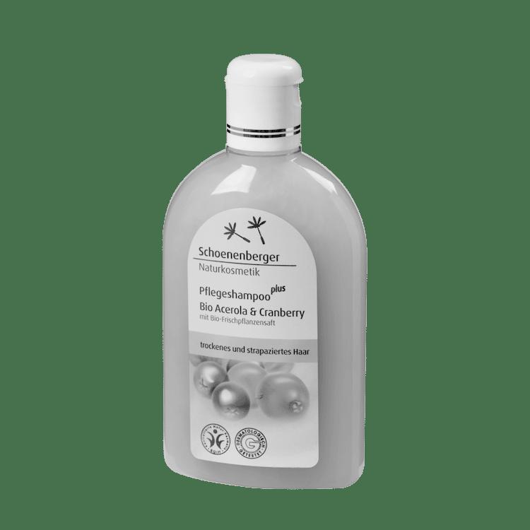 Schoenenberger® Naturkosmetik Pflegeshampoo plus Bio Acerola & Cranberry