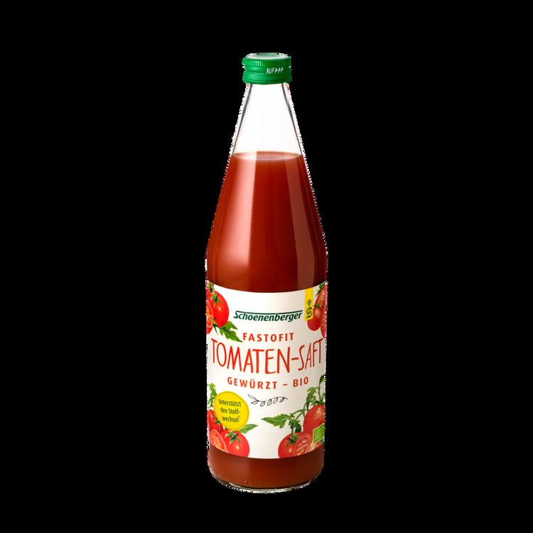 Schoenenberger® FasToFit, gewürzter Tomaten Bio-Saft