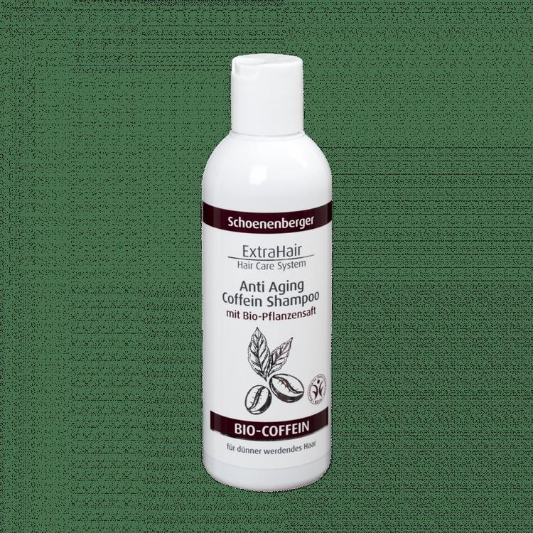 Schoenenberger® Naturkosmetik ExtraHair® Hair Care System Anti Aging Coffein Shampoo