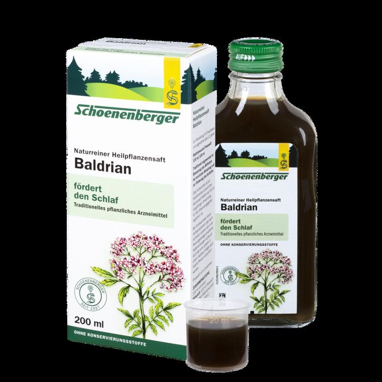 Schoenenberger® Baldrian, Naturreiner Heilpflanzensaft